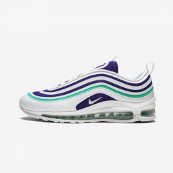 Nike Womens Air Max 97 UL '17 SE AH6806 102 Violet White/White-Court Purple Running Shoes