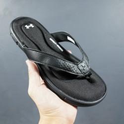 2020 Under Armour 8799719 All Black 36-45 Unisex Sandals