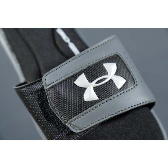 2020 Under Armour 8799719 Black Grey And White 36-45 Unisex Sandals