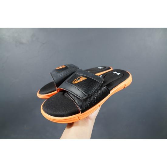 2020 Under Armour 8799719 Black Orange 36-45 Unisex Sandals
