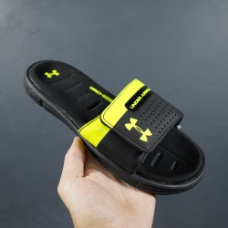 2020 Under Armour 8799719 Black Yellow 36-45 Unisex Sandals