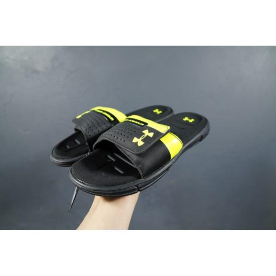 2020 Under Armour 8799719 Black Yellow 36-45 Unisex Sandals