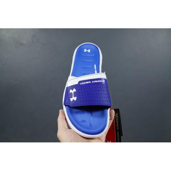 2020 Under Armour 8799719 Blue White Dark Blue 36-45 Unisex Sandals