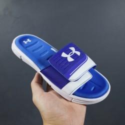 2020 Under Armour 8799719 Dark Blue White Blue 36-45 Unisex Sandals
