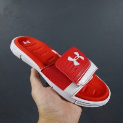 2020 Under Armour 8799719 Red White 36-45 Unisex Sandals