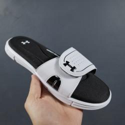 2020 Under Armour 8799719 White Black 36-45 Unisex Sandals