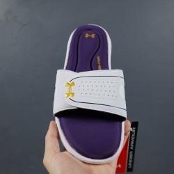 2020 Under Armour 8799719 White Purple Gold 36-45 Unisex Sandals