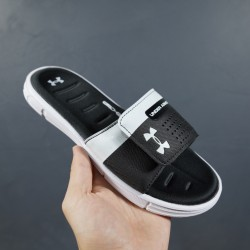 2020 Under Armour 8799719 White With Black 36-45 Unisex Sandals