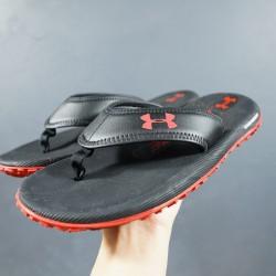 2020 Under Armour Tire Fat 1266210 3000036 Black Red 39-45 Unisex Sandals