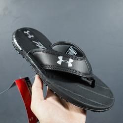 2020 Under Armour Tire Fat 1266210 3000036 Black White 39-45 Unisex Sandals