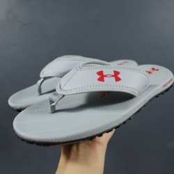 2020 Under Armour Tire Fat 1266210 3000036 Grey Red 39-45 Unisex Sandals