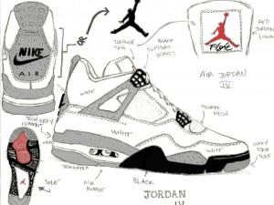 The story of Air Jordan 4 sneakers? About AIR JORDAN Ⅳ (1989).