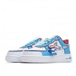 Doraemon X Nike Air Force 1 Low White Blue BQ8988-106 Women Men AF1 Shoes