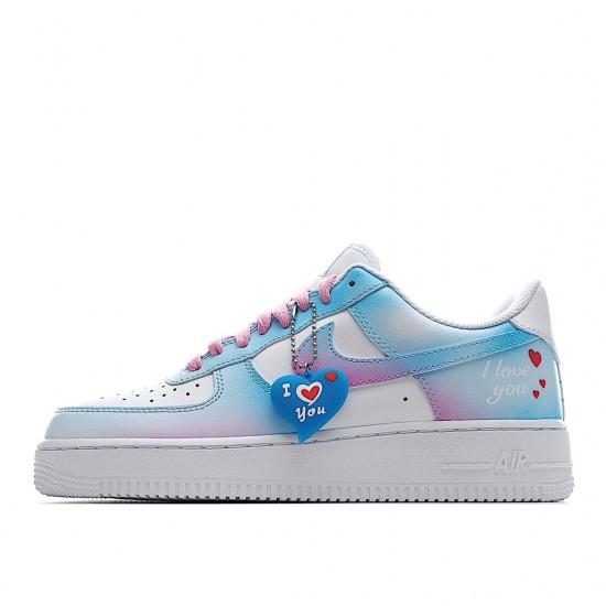 Nike Air Force 1 07 Low White Multi CW2288-111 Women Men AF1 Shoes