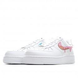 Nike Air Force 1 Low Custom Triple White CW2288-111 Women Men AF1 Shoes
