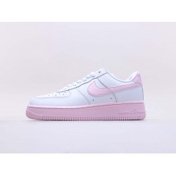 """Nike Air Force 1 Low """"White Pink Foam"""" Running Shoes CK7663 100 AF1 Womens Sneakers"""