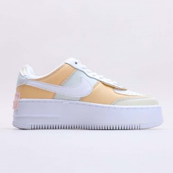 "Nike Air Force 1 Shadow SE ""Spruce Aura"" Running Shoes CK3172 002 WMNS AF1 Sneakers"