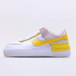 "Nike Air Force 1 Shadow ""White Barely Rose"" Running Shoes CJ1641 102 WMNS AF1 Sneakers"