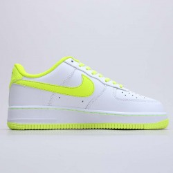 """Nike Air Force 1 '07 LV8 """"White/Green"""" Running Shoes 808128 002 Unisex AF1 Sneakers"""