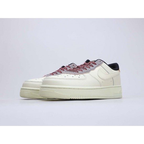 "Nike Air Force 1 Low ""Fossil Gream"" Fossil/Wheat-Shimmer-Fossil Running Shoes CK4363 200 Unisex AF1 Sneakers"