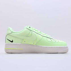 """Nike Air Force 1 Low """"Just Do It"""" Green/White Running Shoes CT2541 700 Unisex AF1 Sneakers"""