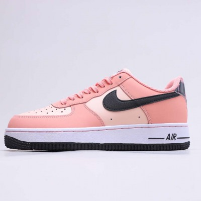 "Nike Air Force 1 Low Peach Pack ""Pink Quartz"" Running Shoes CU6649 100 Unisex AF1 Sneakers"