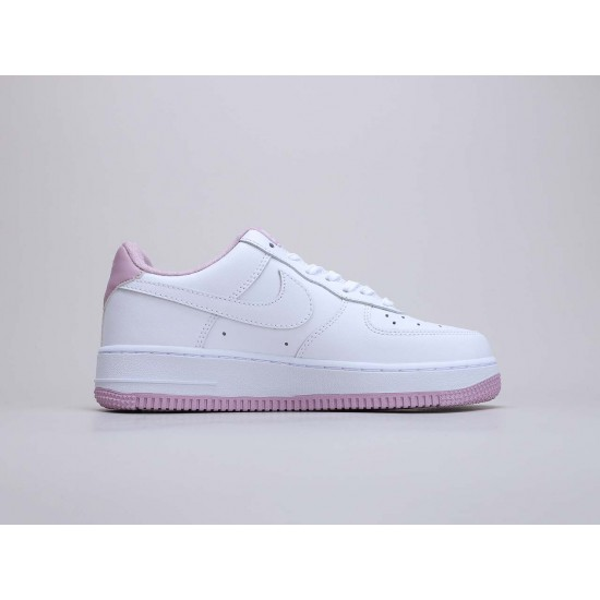 "Nike Air Force 1 Low""Voltage Purple"" WMNS Running Shoes White/Pink CD6915 100 AF1 Sneakers"