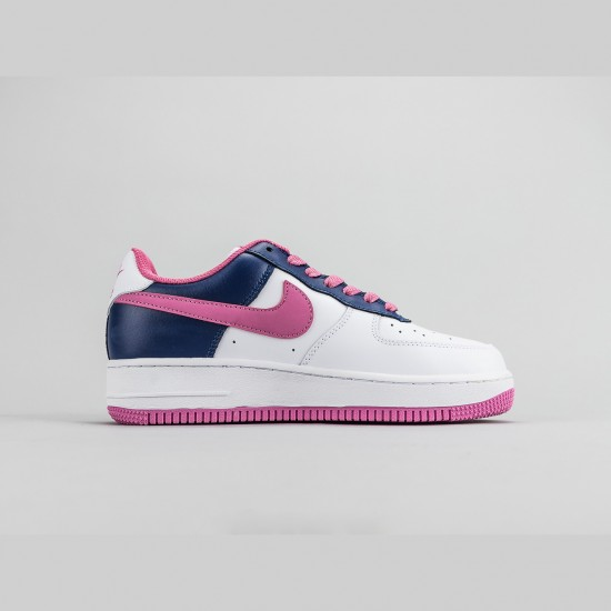 Nike WMNS Air Force 1 07 White/Blue/Purple Running Shoes AF1 315115 106 Sneakers