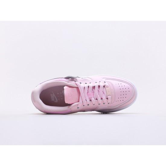 "Nike WMNS Air Force 1 Shadow ""Pink Foam"" White-Pink Foam Running Shoes CV3020 600 Womens Sneakers"
