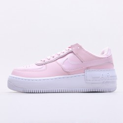 "Nike WMNS Air Force 1 Shadow ""Pink Foam"" White-Pink Foam Running Shoes CV3020 600 Womens Sneakers"