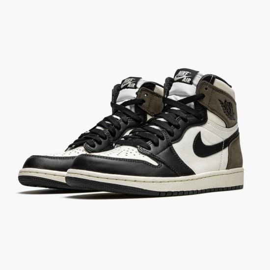 """Air Jordan 1 Retro High """"Dark Mocha"""" Unisex 555088 105 Jordan Sneakers"""