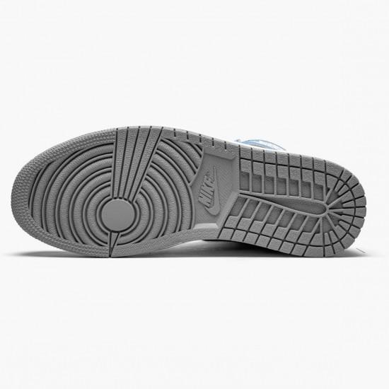 "Air Jordan 1 Retro High OG ""Hyper Royal"" Hyper Royal/Light Smoke Grey-White AJ1 Basketball Shoes"