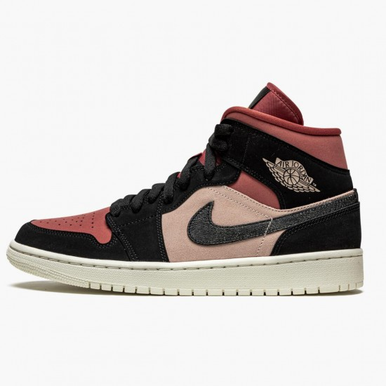 Air Jordan 1 Mid Canyon Rust BQ6472 202 Womens AJ1 Jordan Sneakers
