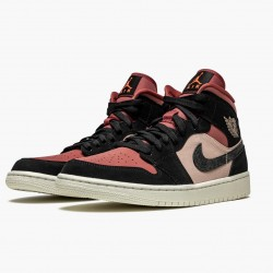 Air Jordan 1 Mid Canyon Rust BQ6472 202 Womens AJ1 Jordan Sneakers