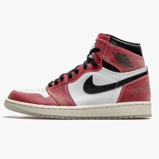 Air Jordan 1 Retro High Trophy Room Chicago DA2728 100 Unisex AJ1 Jordan Sneakers