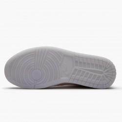 2020 Nike Air Jordan 1 Mid Pink Basketball Shoes Womens CW6008 600 AJ1 Sneakers