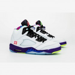 "Nike Air Jordan 5 ""Alternate Bel-Air"" Basketball Shoes DB3335 100 AJ5 Basketball Shoes"