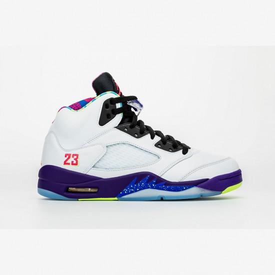 "Nike Air Jordan 5 ""Alternate Bel-Air"" Basketball Shoes DB3335 100 AJ5 Basketball Shoes"