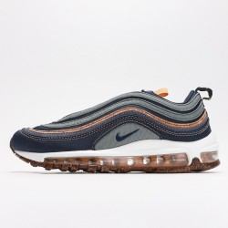 Nike Air Max 97 Cork Pack Brown Navy BDC3986-300 Women Men Running Shoes