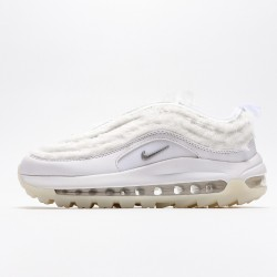 Nike Air Max 97 Golf White Metallic Sliver CK4437-101 Women Running Shoes