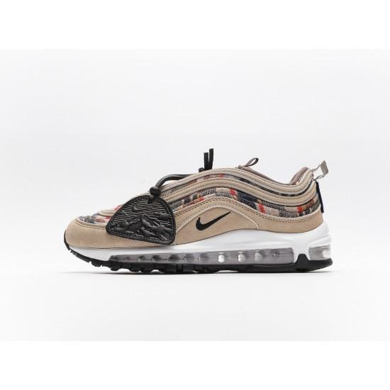 Nike Wmns Air Max 97 Brown Black White Mens DC4830-300 Running Shoes