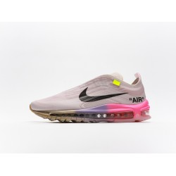 Off-White x Nike Air Max 97 Elemental Rose Serena Queen AJ4585-600 Mens Running Shoes