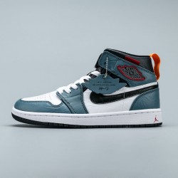 2020 Nike Facetasm x Air Jordan 1 Mid Fearless Basketball Shoes Unisex CU2802 100 Sneakers