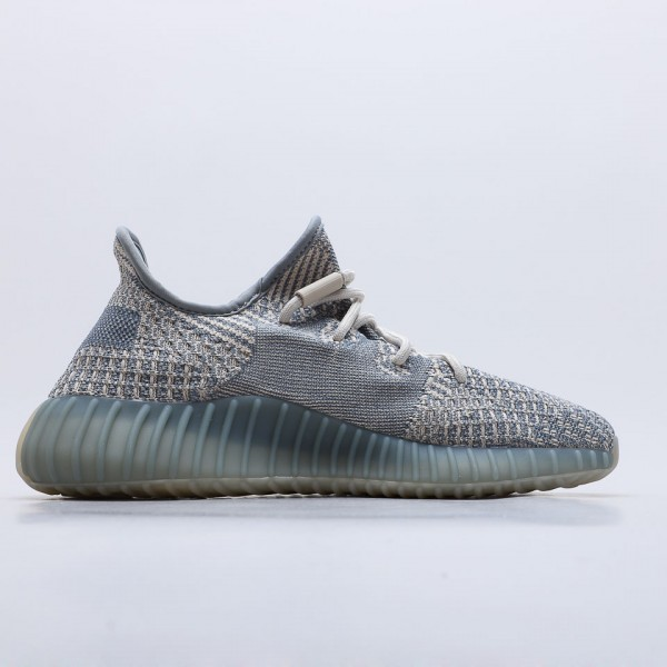 "Adidas Yeezy Boost 350 V2 ""Israfil"" Running Shoes FZ5421 Unisex Sneakers"