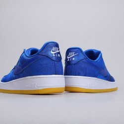 CLOT x Nike Air Force 1 Low PRM Rose Gold Silk Unisex AF1 CJ5290 400 Sneakers
