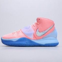 "Concepts X Nike Kyrie 6 ""Khepri"" CU8880-600 Pink/Blue Mens Basketball Shoes"