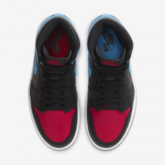 "Nike Air Jordan 1 High Og Wmns ""Unc to Chicago"" Basketball Shoes Mens CD0461 046 AJ1 Sneakers"