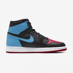 "Nike Air Jordan 1 High Og Wmns ""Unc to Chicago"" Basketball Shoes Mens CD0461 046 AJ1 Sneakers"