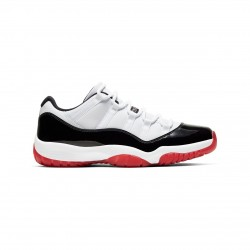 "Nike Air Jordan 11 Low ""White Bred"" Mens Basektball Shoes AV2187 160 AJ11 Sneakers"