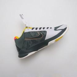 Nike Zoom Kobe 5 Basketball Shoes Green White CD4991-300 Mens Sneakers